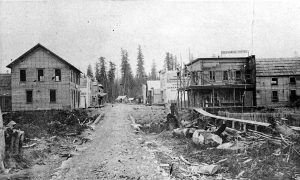 Historical Photo of Main Street in 1890