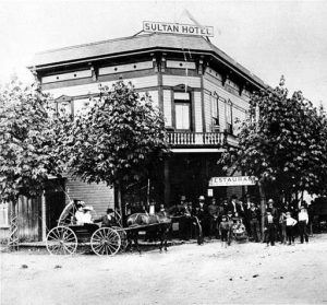 Historical Photo of Sultan Hotel in 1900